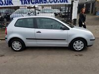 TRADE IN TO CLEAR!!! VW POLO 2002 LONG MOT, DRIVES GREAT ONLY £795!!