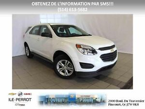 2016 Chevrolet Equinox FWD COMME NEUF!!!!! BLUETOOTH, MAGS,