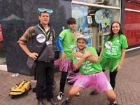Oxfam charity street fundraiser - immediate start - £9.40-£14/hr