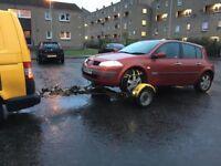 Renault Megane 1.5 DCI Spares or repairs