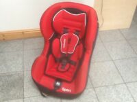 Lightweight group 1 car seat for 9mths to 4yrs-Mothercare brand -washed and cleaned-£35