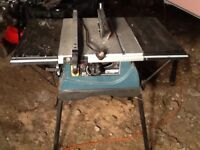 Erbauer table saw