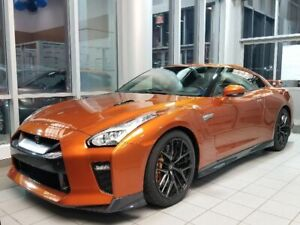 2018 Nissan GT-R Premium- Blaze Metallic w/ Kuro Night Interior