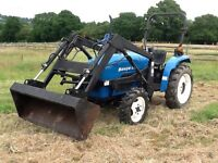 Compact tractor benye 25hp front loader