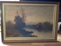 F E Jamieson oil painting