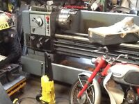 Harrison m400 gap bed lathe