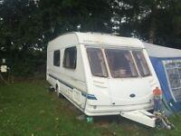 stirling 4 berth caravan good condition