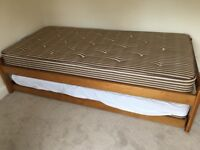 John Lewis single pull out bed