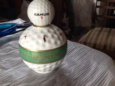 Camus Cognac vintage Golfball Decanter.