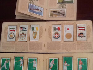 Players antique card collections in albums, BARGAIN BULK LOT St James Victoria Park Area Preview