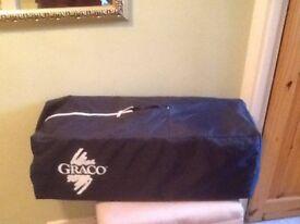 Graco travel cot