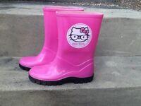 Hello Kitty Pink Wellies Size 11