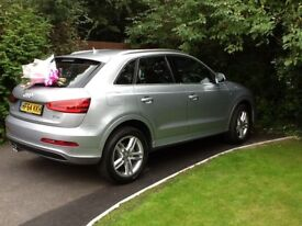 Audi Q3 1.4T FSI S Line AUDI SERVICE HISTORY. Sept. 2014 One owner, direct from showroom