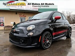 2015 Fiat 500C Abarth RARE CONVERTIBLE MODEL!!