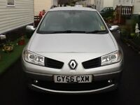 Renault Megane for sale , mot till August, very reliable car, diesel, needs a few jobs doing on it,