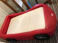 Little Tikes Red Roadster Racing Car Bed