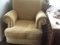 Armchair - very comfortable armchair. Corded velvet.