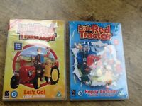 LITTLE RED TRACTOR DOUBLE DVD SET FOR TODDLERS AGE 2-6 . LETS GO&HAPPY BIRTHDAY THERE ARE 12 STORIES