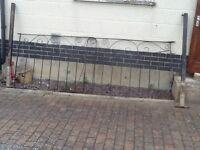 Garden/driveway metal gates