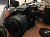 Nikon d3400 with accesories