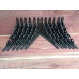 12 Flower Shelf Brace Shelf Bracket Corbel Cast Iron Rustic Garden FREE SHIPPING