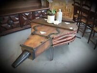 French Bellow Coffee Table