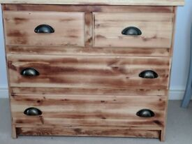 Solid Wooden set of drawers Superb Quality Antique Excellent Condition