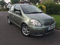 Toyota Yaris 1.3 VVT-i T Spirit 5dr ONE YEARS MOT+CHEAP INSURANCE+AUTOMATIC