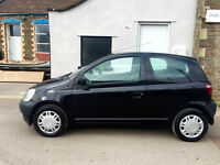 2002 Toyota Yaris 1.0 VVTi Manual 10 Months MOT No advisories Lovely Cheap Fault-Free Runaround!