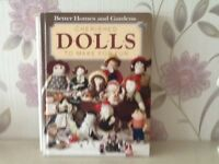 Cherished dolls to make book