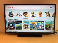 42 inch Hitachi-- Smart TV-- wifi builtin- freeview HD-- slim design