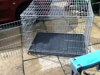 savic dog cage large size dog