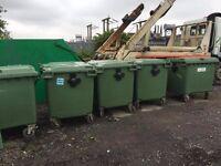 Trade wheelie bins