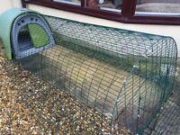 Omlet guinea pig/rabbit or chicken house & 2 meter run