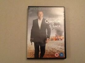 James Bond 007 Quantum of Solace two disc special edition DVD