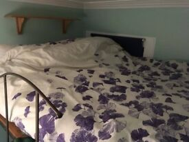Cozy double room with loft bed for rent - £475 a month including bills & fast WIFI