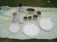 Vintage Poole Pottery items in good condition