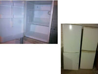 HOTPOINT ICED DIAMOND CREAM UNDER COUNTER FRIDGE GOOD WORKING ORDER CAN BE SEEN WORKING