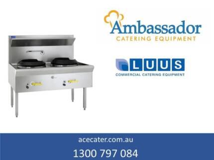 Luus Essentials Series Waterless 2 Hole Wok WL-2C