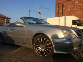 swap or sell MERCEDES CLK 320 AVANTGUARD CONVERTABLE LONG MOT USED DAILY