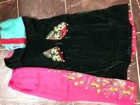 Indian Pakistani party dresses