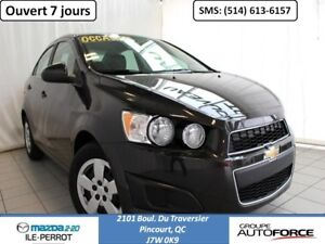 2015 Chevrolet Sonic LT AUTOMATIQUE A/C BLUETOOTH