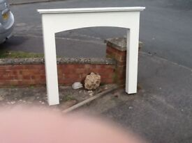 Fire surround and base hand made