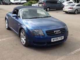 Audi TT convertible long mot 2 owners from new part service history.good condition inside and out