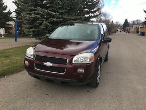 REDUCED!!!!2008 Chevrolet Uplander DVD player and starter