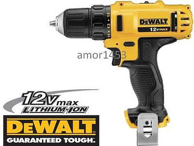 "DeWalt DCD710 12V Max Lithium-Ion 3/8"" Cordless Drill/Driver New on Rummage"