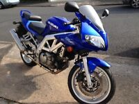 2004 Suzuki SV650S, One Owner, 14,000 Miles from New
