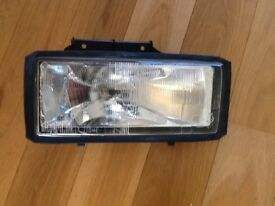 Brand new Austin MG Montego headlight / headlamp head light lamp and used rear light.