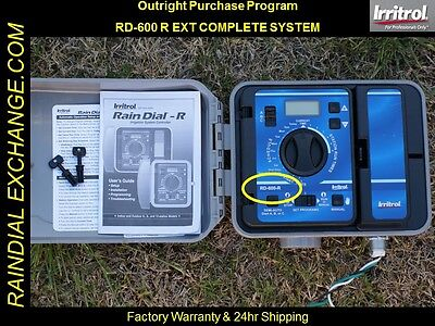 NEW EXTERIOR Irritrol / Hardie Rain Dial RD-600 R / RD-600 EXT SYSTEM