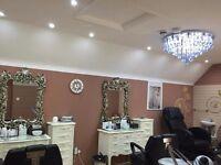 Beauty salon mirror